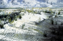 North Carolina artist J. Chris Wilson's Landscape Painting <em>Dunes</em> see also &quot;From Murphy to Manteo--An Artist's Scenic Journey&quot;