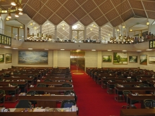 North Carolina artist J. Chris Wilson's Landscape Paintings <em>Exhibited in the North Carolina House Chamber</em> &quot;From Murphy to Manteo--An Artist's Scenic Journey&quot;